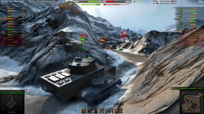 Онлайн игра World of Tanks